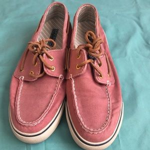 Pink Sperry Top-Sider size 9